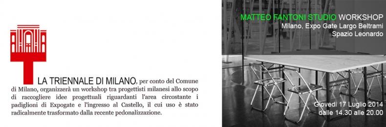Matteo Fantoni News - ATELIER CASTELLO <br>MFS DESIGN WORKSHOP