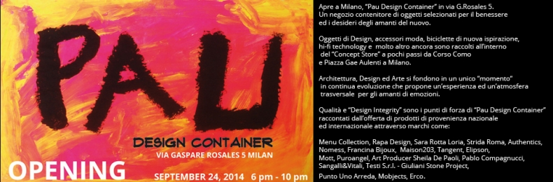 Matteo Fantoni News - PAU DESIGN CONTAINER OPENING AT ROSALES 5