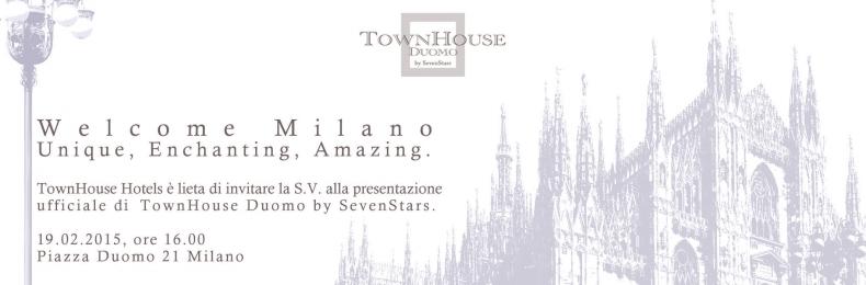 Matteo Fantoni News - Presentazione Town House Duomo by Seven Stars
