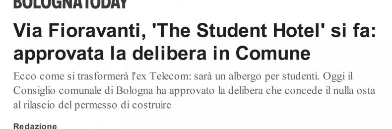 Matteo Fantoni News - TSH BOLOGNA. IL COMUNE HA DELIBERATO IL PERMESSO DI COSTRUIRE.