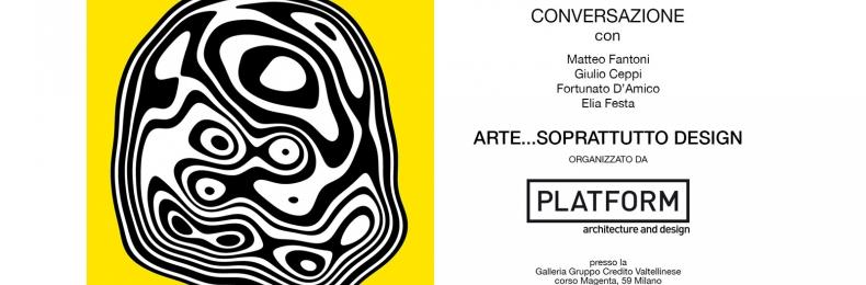 Matteo Fantoni News - Conferenza.ARTE...SOPRATTUTTO DESIGN