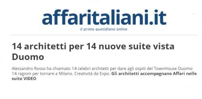 14 architetti per 14 nuove suite vista Duomo