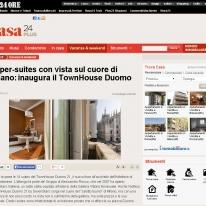 Super-suites con vista sul cuore di Milano