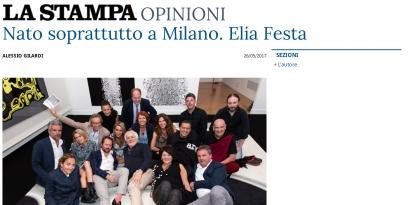 Nato Soprattutto a Milano. Elia Festa