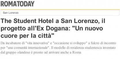 The Student Hotel a San Lorenzo, il progetto all Ex Dogana